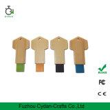 Kundenspezifische holz USB-Platte 16g der USB-Platte-8g Schlüssel
