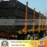 Geläufiges Kohlenstoff-Quadrat und rechteckiges Stahlrohr