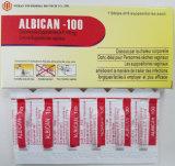 西部の薬GMP Clotrimazole Suppositoires B.P 100mg/200mg/500mgのAntimycoticのVaginitis