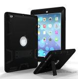Apple iPad를 위한 어려운 잡종 내진성 가득 차있는 방어적인 케이스 덮개
