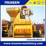 Mélangeur concret de mètres cubes du type 1 Js1000 pour la construction de construction