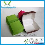 Rectángulo de papel barato de encargo cómodo del alimento del rectángulo de la hamburguesa de Eco