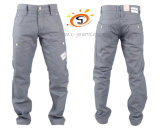 Mens стильной синей Designer джинсы брюки брюки