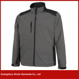 Пальто куртки Softshell изготовленный на заказ вышивки фабрики водоустойчивое для людей женщин (J01)