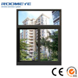 Glace en aluminium de bonne qualité de Roomeye double Windows coulissant/guichet en aluminium