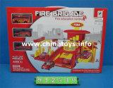 Пластмассовые игрушки контакт автомобильная стоянка с (912530)