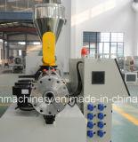 Extrusión de doble husillo de línea de producción de tubos de plástico