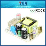 carregador rápido rápido móvel da UE do telefone de pilha do carregador de 5V 2A