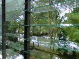 5mm de 6mm en verre transparent avec bords polis Louvre