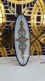3 + 3mm Vidrio laminado de la iglesia con diversos diseños