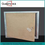 Dekorative MDF-Zugangsklappe mit starkem Stahlprofil AP7510