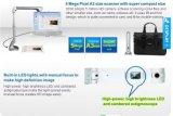5.0 CMOS сенсор 2592X1944 USB Power высокоскоростной портативный портативный сканер документов (S600)