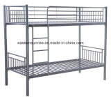 안전 침실 가구 아이들 층계 금속 2단 침대