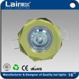 Vidrio Popular CREE LED lámpara de techo con luz tenue RoHS CE