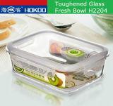 Heet verkoop de Reeks van de Kom H2204 van het Gehard glas Hokoo