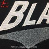 Человек Джерси бейсбола полиэфира цвета Healong черный