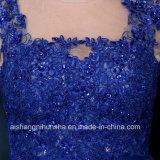 Frauen, die Chiffon- Sleeveless Abend-Partei-Abschlussball-Kleid bördeln