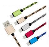 인조 인간 전화, iPhone를 위한 다채로운 이동 전화 USB 데이터 케이블 선