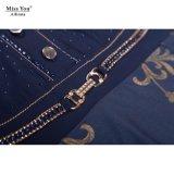Miss Выа Ailinna 101976-1 длиной одевает OEM a - линию изготовление флористического платья