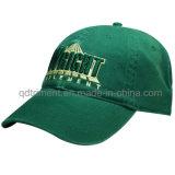 Mikroveloursleder-metallische Stickerei-Freizeit-Baseball-Hut-Schutzkappe (TRB091)