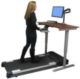 Herz Eignung-Geräten-justierbarer Schreibtisch-Arbeitstretmühle