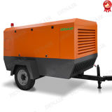 Nuevo compresor de aire portable del tornillo del motor diesel con el certificado del CE