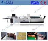 Máquina que corta con tintas de la tela no tejida caliente de las ventas de la cortadora de la tela