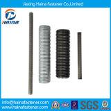 4.8 8.8 Aço inoxidável de grau Ss304 Ss316 ASTM A193 B8 B8m / Galvanizado em Zinco B7 / M3-M120 DIN975 DIN976 Haste de rosca de aço / barra de rosca