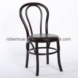 Cadeira de madeira Stackable de Thonet
