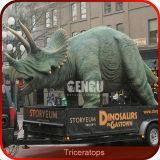 O Parque de Diversões Gengu Dinossauro Animatronic Tamanho Real