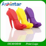 PVC silicona Stick USB Pendrive High-Heeled zapatos unidad Flash USB