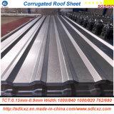 Prima galvanizada/hoja de acero acanalada del Galvalume/hoja del material para techos