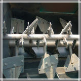 Mixer Forberg van de Schacht van het Type van peddel de Dubbele Horizontale voor Poeder