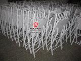 Silla de comedor de vidrio de la sala de muebles sillas plegables utilizadas por mayor de sillas plegables