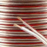 Qualitäts-transparentes Audiolautsprecher-Kabel
