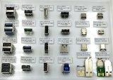 Разъем типа C USB2.0, номинальный ток~5A, долговечность: 20000 циклов. OEM/ODM