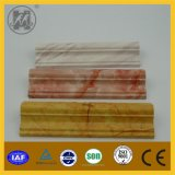 Wall Skirting, Door Frame, Window를 위한 PVC Marble Skirting와 Border Line