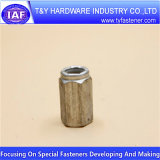 Longue noix de couplage en aluminium