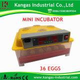 Le modèle le plus neuf pour 36 incubateurs bon marché complètement automatiques de canard d'oeufs de poulet à vendre