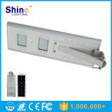Amostra livre toda em uma luz de rua solar Integrated do diodo emissor de luz