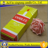 Vela da cera de parafina com o fornecedor barato da vela de China do preço
