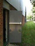 StandardアメリカのUL Certifiedとの鋼鉄Fire Door