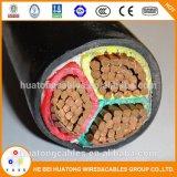 Câble d'alimentation de cuivre isolé par XLPE