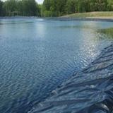 HDPE Zwarte Film Geomembrane voor de Voering van de Vijver van Vissen