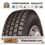 Longmarch Roadlux Reifen 650r16 700r16 750r16 825r16 des LKW-Reifen-TBR