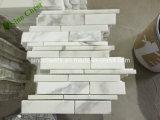 Mármol de madera blanco barato de la vena, azulejos de madera blancos y losas del mármol de la vena