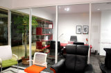 OfficeまたはShopping MallのためのガラスPartitionwall Systems
