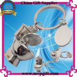 Chaveiro de metal presente de promoção de vendas para o papel higiénico