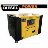 (8 квт 10квт 12КВТ 10 КВА 12 КВА 15 Ква) Air-Cooled Звуконепроницаемые бесшумный дизельный двигатель мощность генератора
