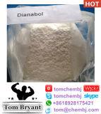 Polvo sin procesar superior de Metandienone del gradiente del 99% (Dianabol) y líquido semielaborado